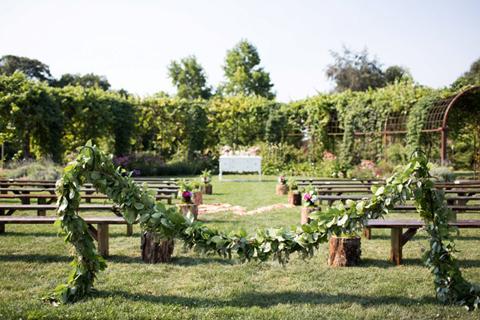 the oregon garden portland weddings - The Oregon Garden